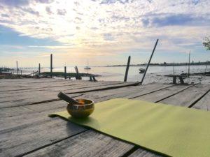 Yoga plage de l Aiguillon Arcachon