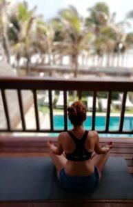 PRATIQUE respiration yogique dans un endroit calme Yoga bassin Arcachon