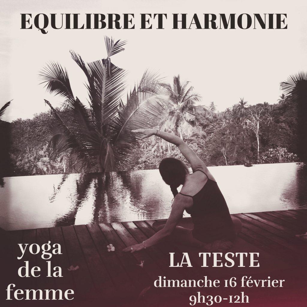 ATELIER YOGA DE LA FEMME